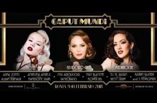Caput Mundi International Burlesque Award 2018