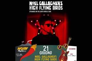 Noel Gallagher's per Noisy Naples Fest