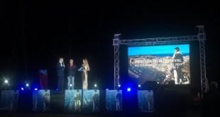 Un momento delle premiazioni del Procida Film Festival 2019