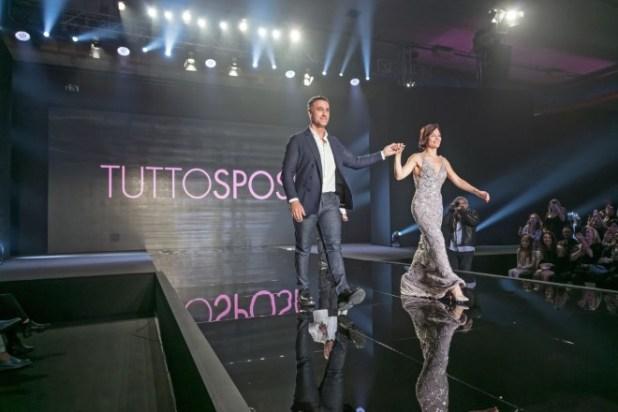 Rinaudo e Raoul Bova a TuttoSposi. Foto da BigBangProduction