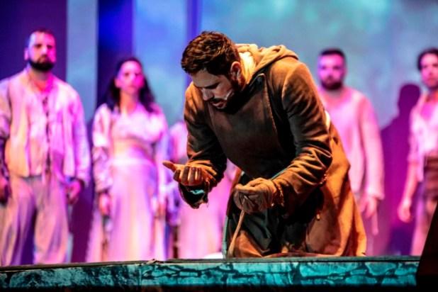 Attilio Fontana in una scena di Actor Day