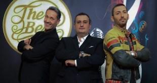 Gianluca Magni ed il team di The Best. Foto di Plinio Neri