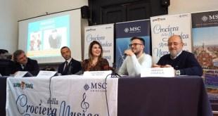 Conferenza stampa di presentazione della Crociera della Musica Napoletana 2020