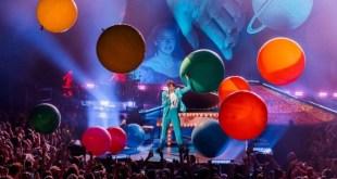 Mika live al Palapartenope. Foto da Ufficio Stampa