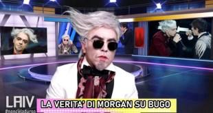 Pasquale Palma nelle vesti di Morgan sul caso Bugo