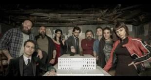 Il cast de La Casa di Carta. Foto dal Web