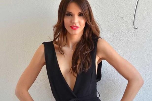 Sara Manfuso. Una foto dal web che risale a prima dell'intervento