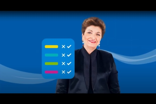 Mara Maionchi nel video per Durex
