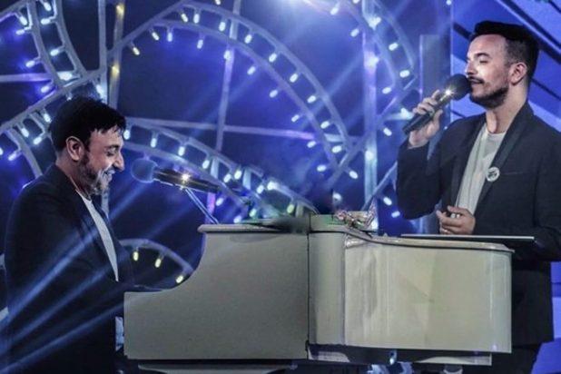 Andrea Sannino e Gigi Finizio live. Foto dal web