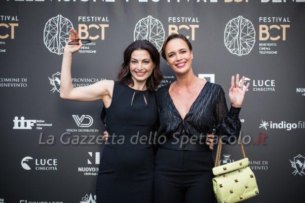 Eleonora Ivone e Roberta Giarrusso al Benevento Cinema e Televisione. Foto di Alessia Giallonardo