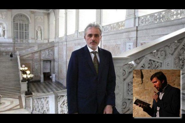 Ruggero Cappuccio e nel riquadro Marco Perillo