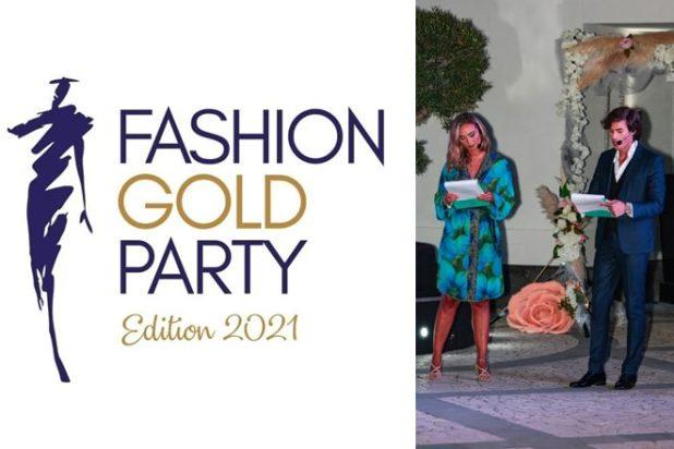 Fashion Gold Party 2021 con Roberta Scardola e Nicola Coletta