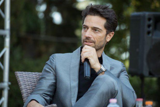 Luca Capuano ad Ariano International Film Festival. Foto di Alessia Giallonardo