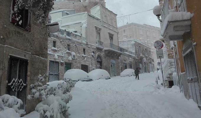 scuole pugliesi chiuse causa neve