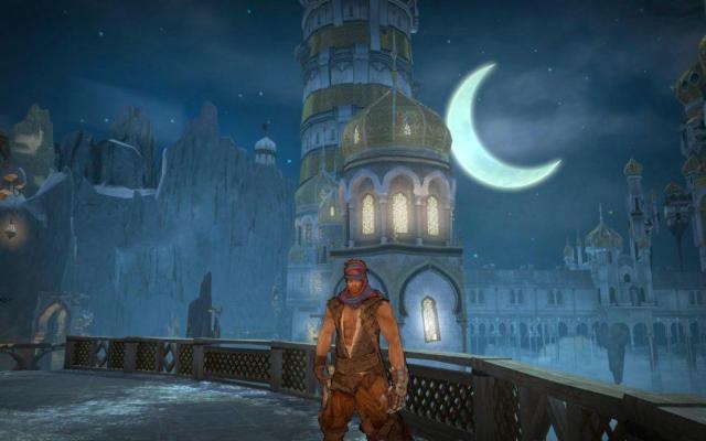 Prince Of Persia 2008 XBOX 360 jeu d'aventure palais de nuit