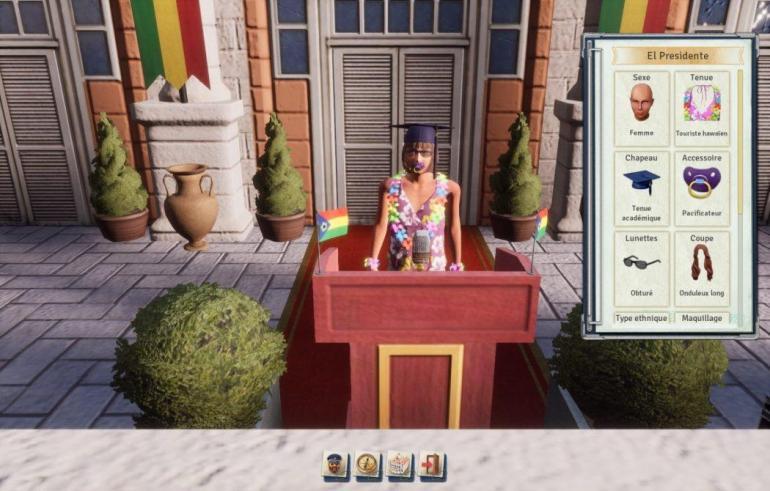 Tropico 6 filtres El Presidente part en live Kalypso AK&CO jeu de gestion simulation dictature