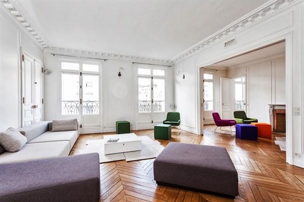 Appartement de luxe de 4 chambres sur 260 m2 avec balcon  Ranelagh Paris 16me  Raphael  L