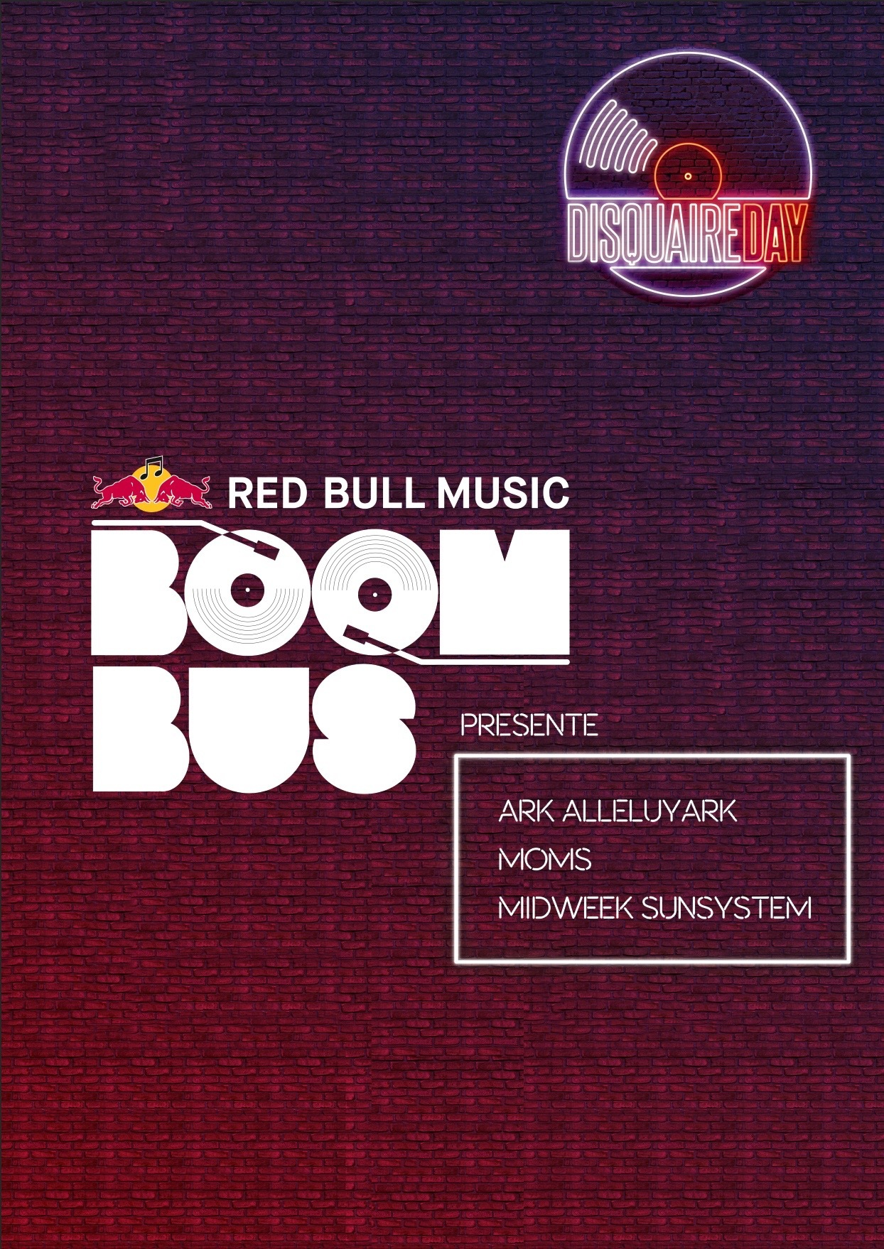 DISQUAIRE DAY_RED BULL MUSIC BOOM BUS