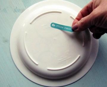 crea etichette personalizzate per i piattini de L'Agenda di mamma Bea