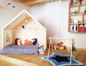 L'Agenda di mamma Bea descrive il letto Montessori del passaggio dalla culla al lettino