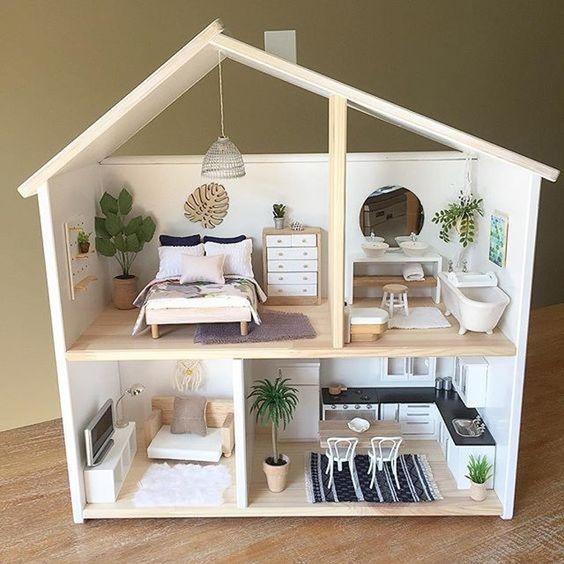 Come Arredare Una Casa In Miniatura E Tornare Bambinil Agenda Di
