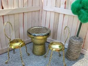 come arredare una casa in miniatura con i materiali di riciclo secondo L'Agenda di mamma Bea