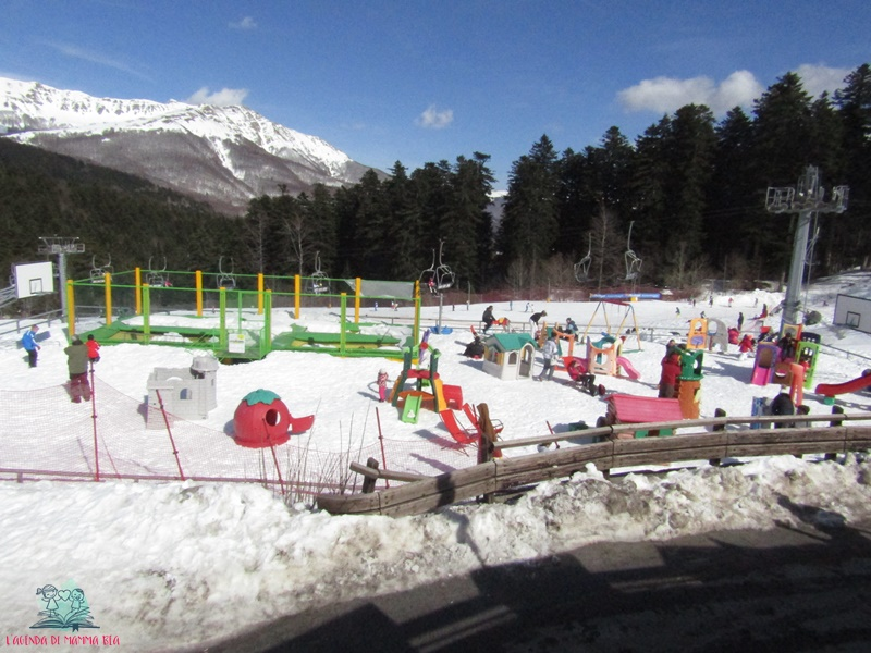 la montagna pistoiese e l'area giochi descritta da L'Agenda di mamma Bea