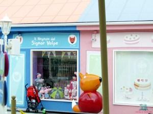 il negozio del signor Volpe di Peppa Pig Land descritto da L'Agenda di mamma Bea