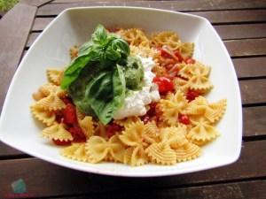 Pasta e fantasia I Love Italy cucinata da L'Agenda di mamma Bea