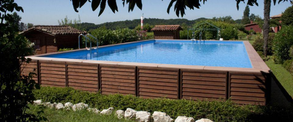 Dolce Vita Gold Above  In ground Swimming Pool kits