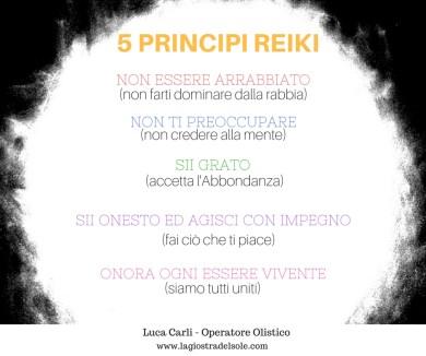 5 principi reiki -significato e spiegazione
