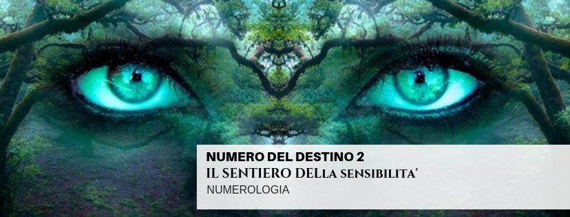 NUMERO DEL DESTINO 2 – IL SENTIERO DELLA SENSIBILITA'