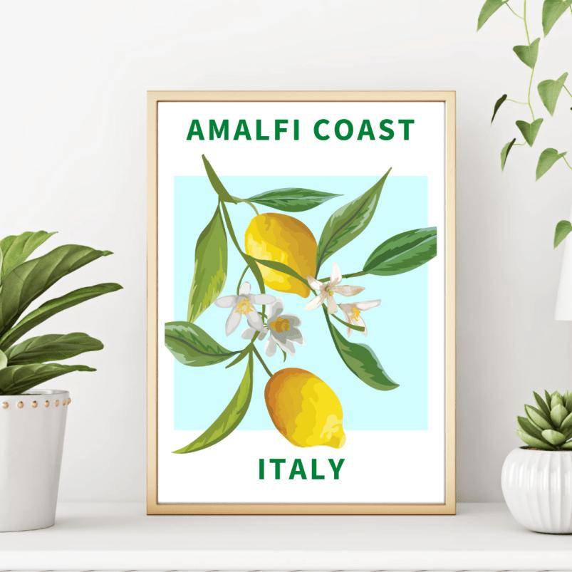 Amalfi Coast - Italian Wonders Poster