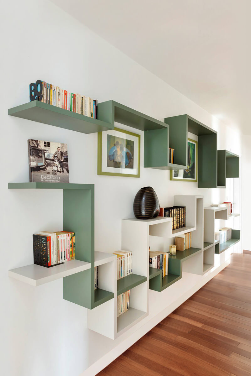 LagoLinea Shelving wall shelving for the living room