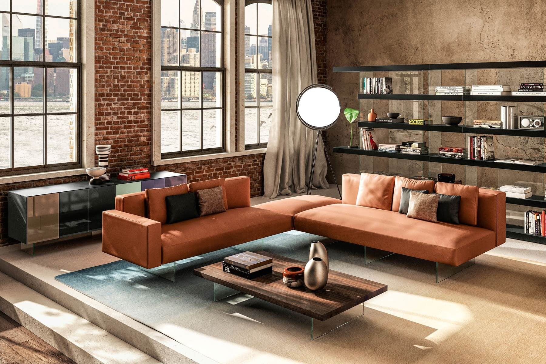 Sofà divano letto clic clac 2 posti in similpelle reclinabile design moderno elly. Air Sofa A Modular Sofa For Your Well Being Lago Design