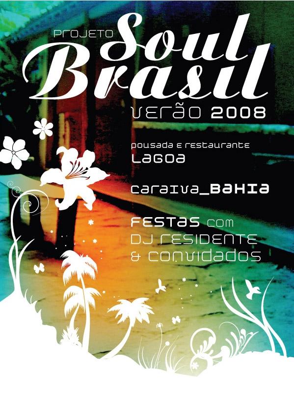 Cartaz Projeto Soul Brasil