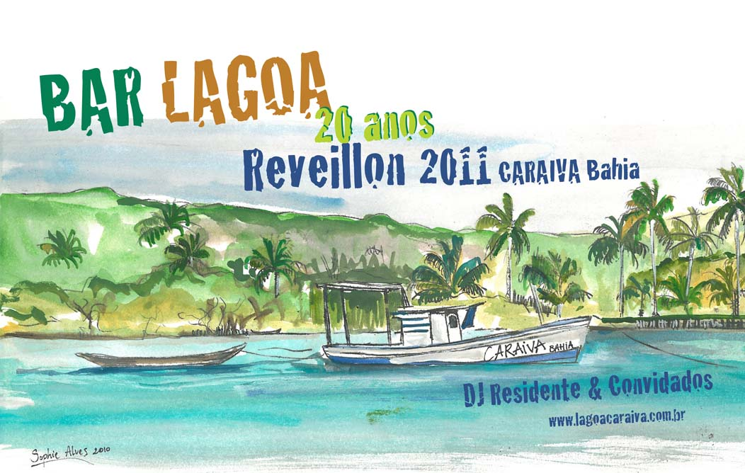 Réveillon 2011 no Bar Lagoa