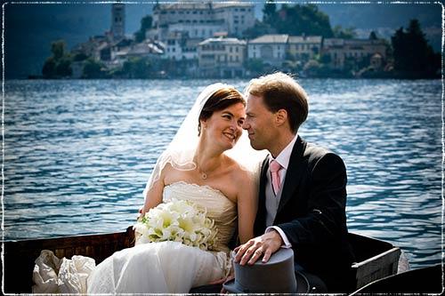 Fotografo matrimonio lago d'Orta