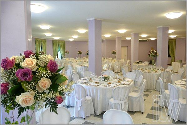 ricevimento matrimonio Villa Ortea