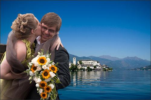 Bouquet Matrimonio Girasoli : Bouquet da sposa con girasoli e lisianthus