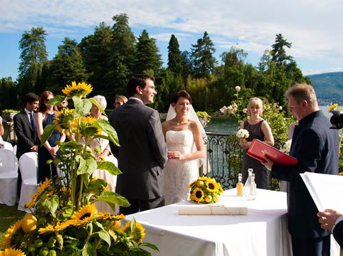 Matrimonio Simbolico In Giardino : Matrimoni in ville al lago maggiore e d orta