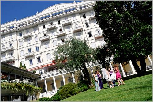 ricevimento-matrimonio-all'aperto-Hotel-Majestic-Verbania