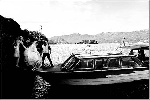 servizio motoscafi Isole Lago Maggiore