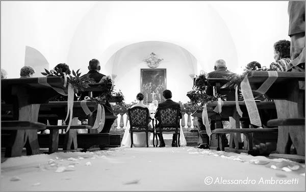 matrimonio in cappella privata Villa Giannone