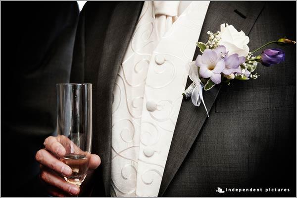 bottoniere per sposo, fioraio matrimonio Baveno