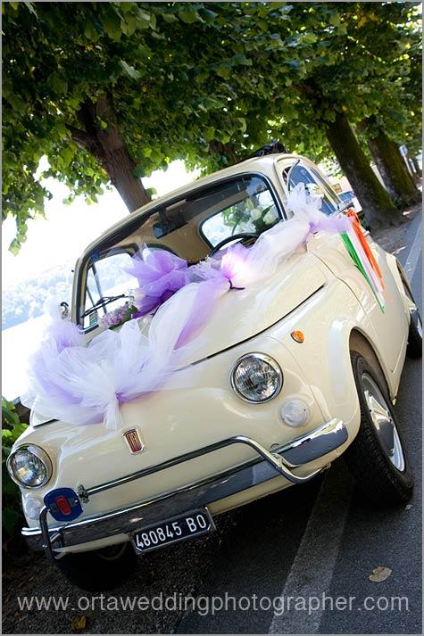 prezzi noleggio Fiat 500 per matrimonio