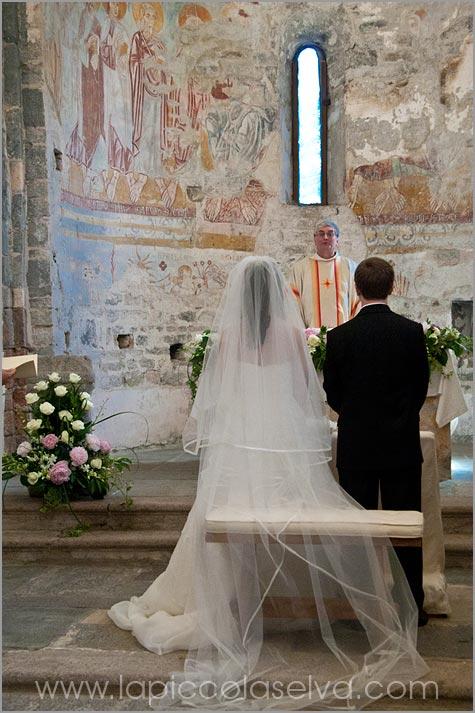 cerimonia matrimonio chiesa San Remigio Pallanza