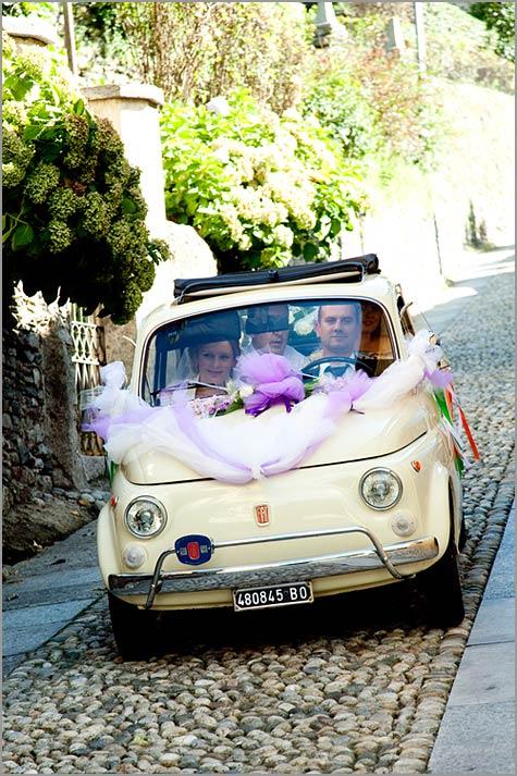 noleggio Fiat 500 matrimonio