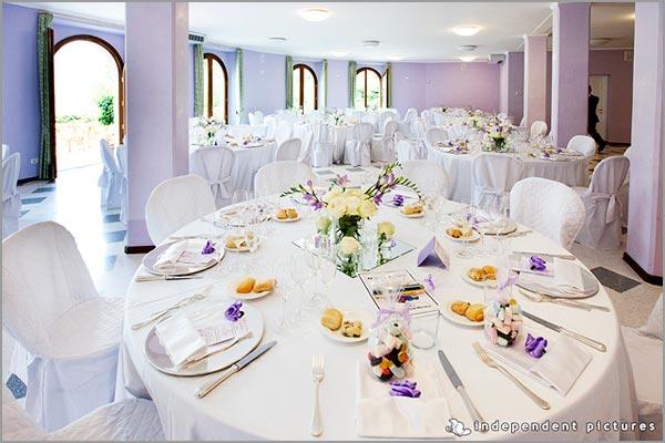 sala ricevimento matrimonio Villa Ortea