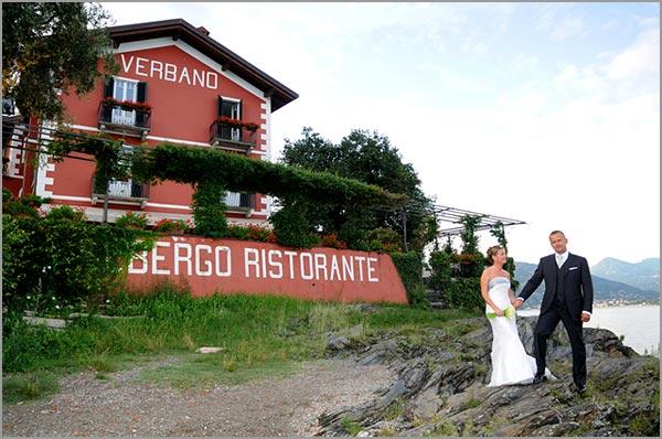 matrimonio hotel ristorante Verbano